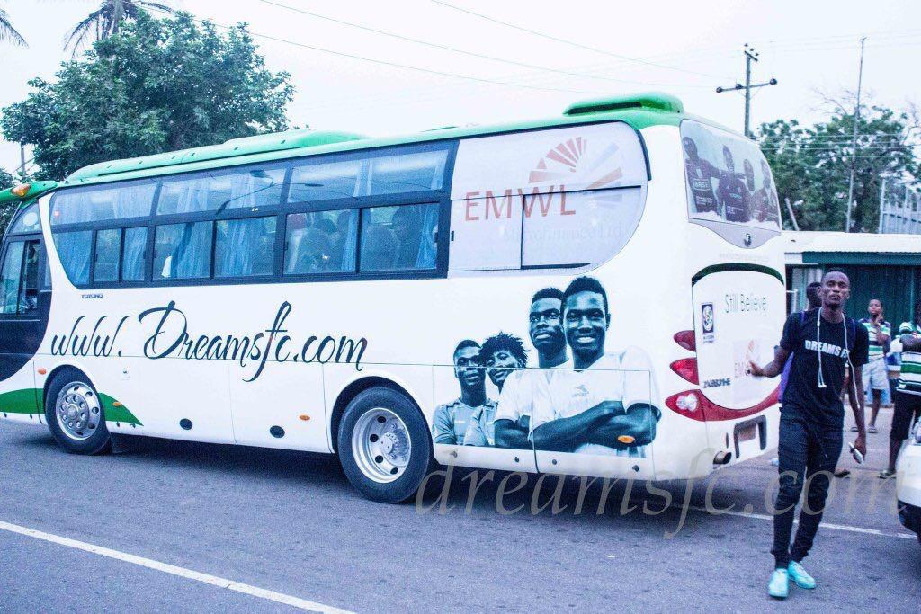 Dreams FC bus