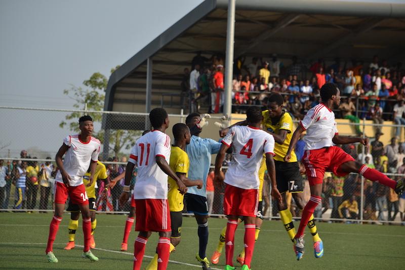 WAFA SC against Asante Kotoko.