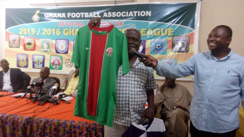 Techiman City official jersey.
