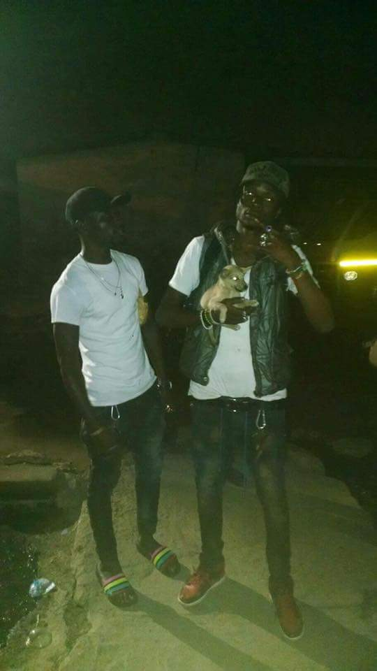 Baba Ali (left) and Moneymaker (right) are wanted by the Ghana police