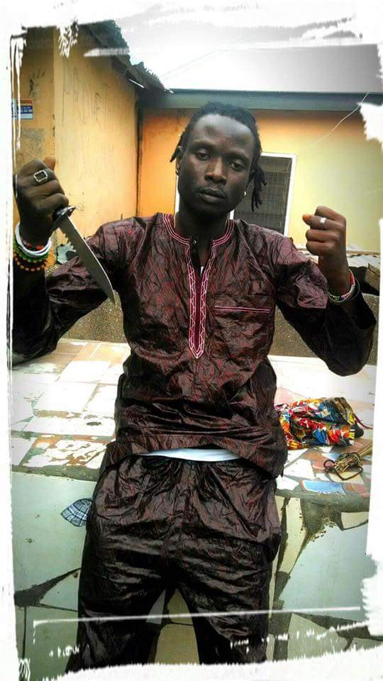 Moneymaker Oluman is accused of stabbing Deco twice in the neck