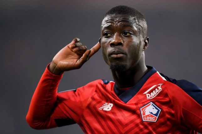 Nicolas Pepe is wanted by several clubs in England and has now won a top award
