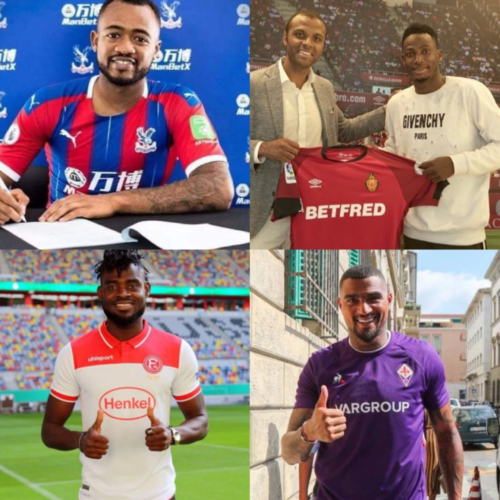 Ghana among top countries exporting footballers in 2019