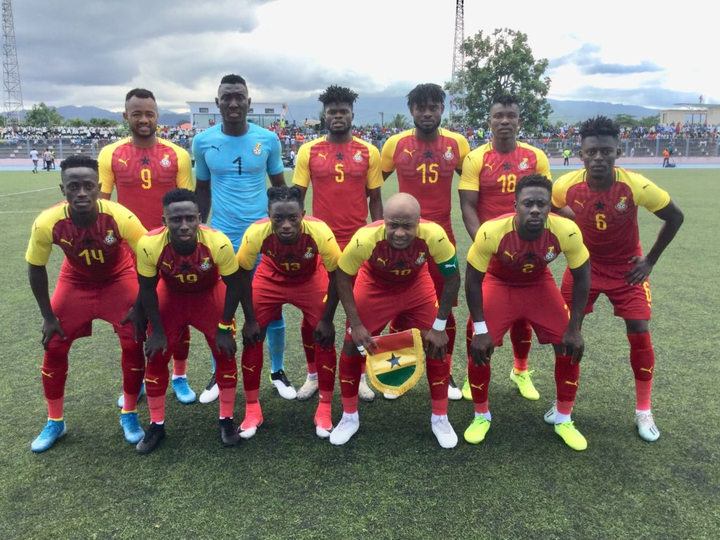 Sao Time and Principe 0-1 Ghana - Five things learned