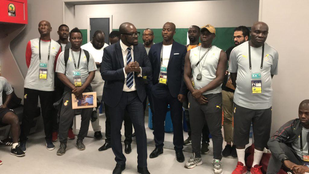GFA Boss Kurt Okraku inspires Black Meteors to secure Olympic ticket with last chance