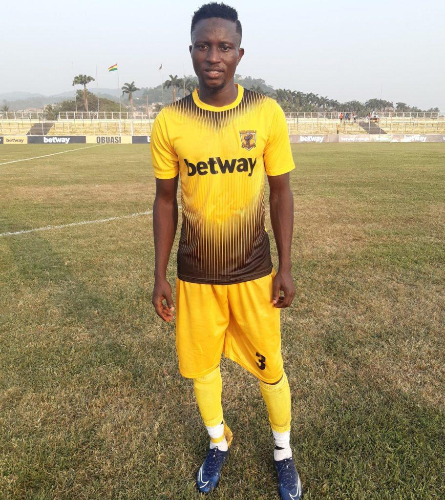 AshantiGold defender Mubarik Yussif excited to score on his birthday