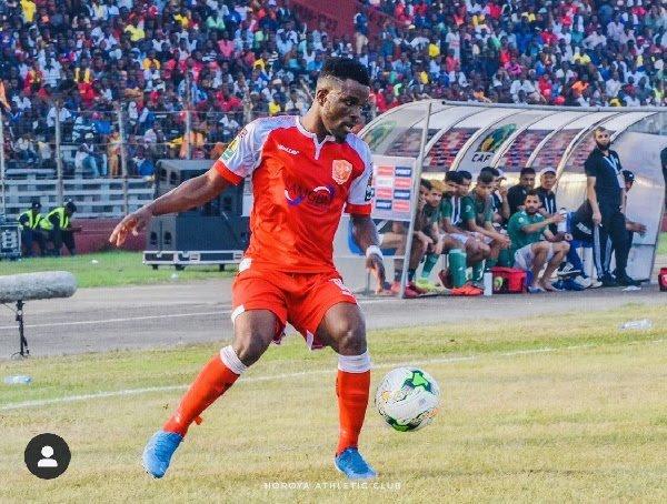 Ghanaian star Enock Atta Agyei makes CAF Confederation Cup Team of the Week