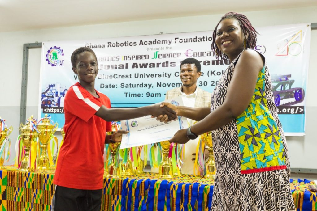 Right to Dream Academy swept the awards