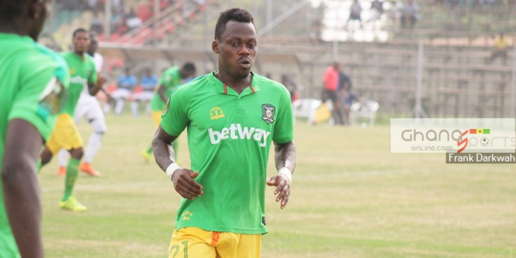 Asante Kotoko sign winger Sam Adams on a two-year deal