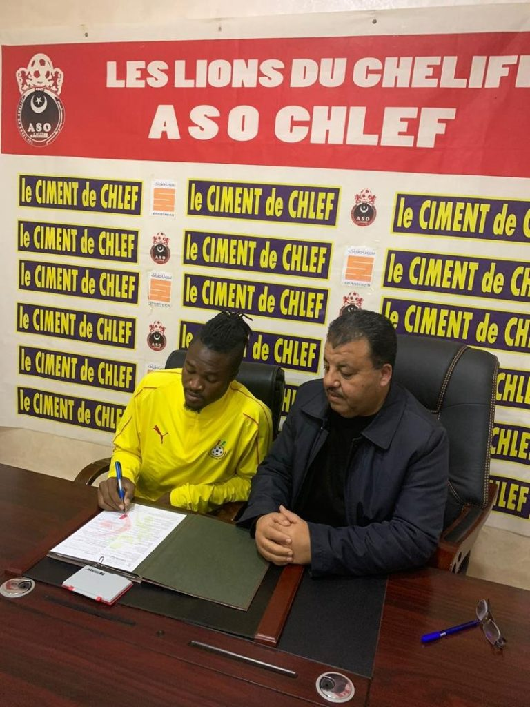EXCLUSIVE: Ghanaian forward Rahim Osumanu joins ASO Chlef in Algeria