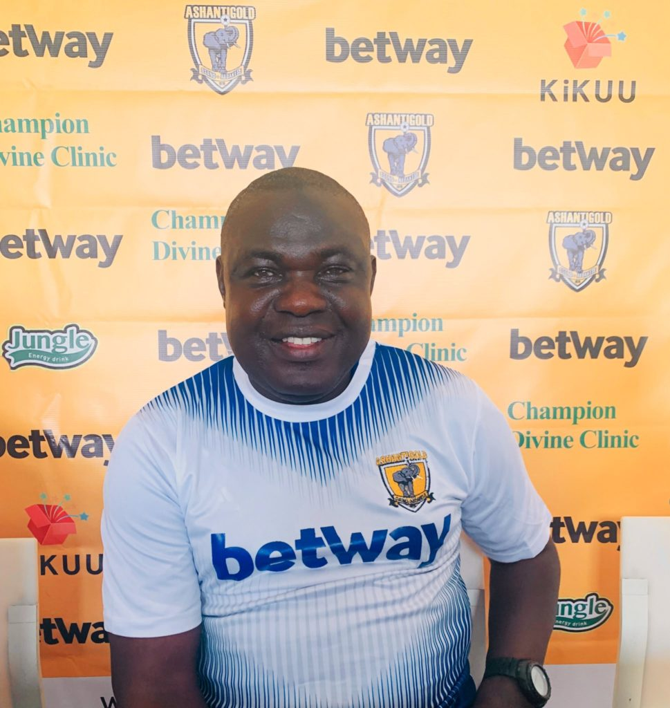 AshantiGold SC assistant coach Yakubu Mambo optimistic of win over Eleven Wonders on Sunday