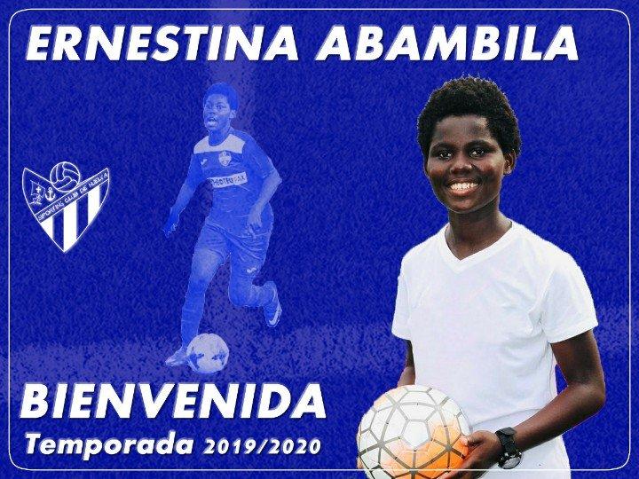 Sporting Club Huelva announce signing of Ghana midfielder Ernestina Abambila