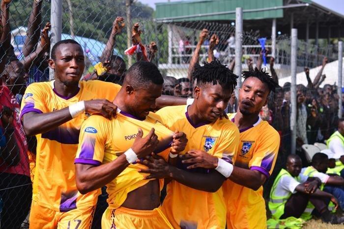 2019/20 Ghana Premier League: Week 6 Match Report: Medeama SC 1-0 AshantiGold SC