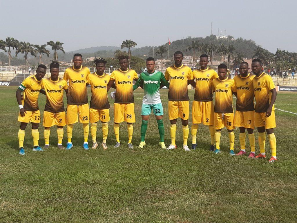 2019/20 Ghana Premier League: Week 7 Match Report - AshantiGold SC 1-0 Ebusua Dwarfs
