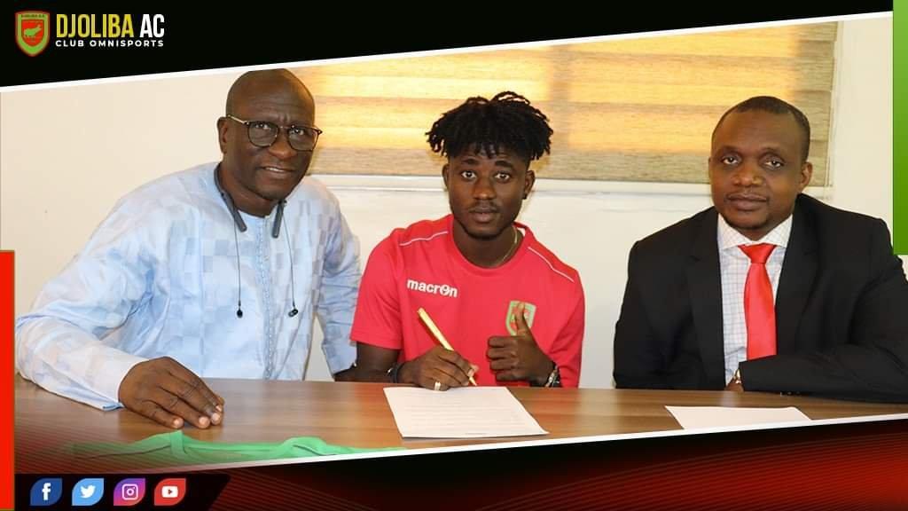 Alex Ofosu Acheampong completes move to Malian giants Djoliba AC