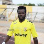 Hans Kwofie rejoins AshantiGold SC on a short-term deal