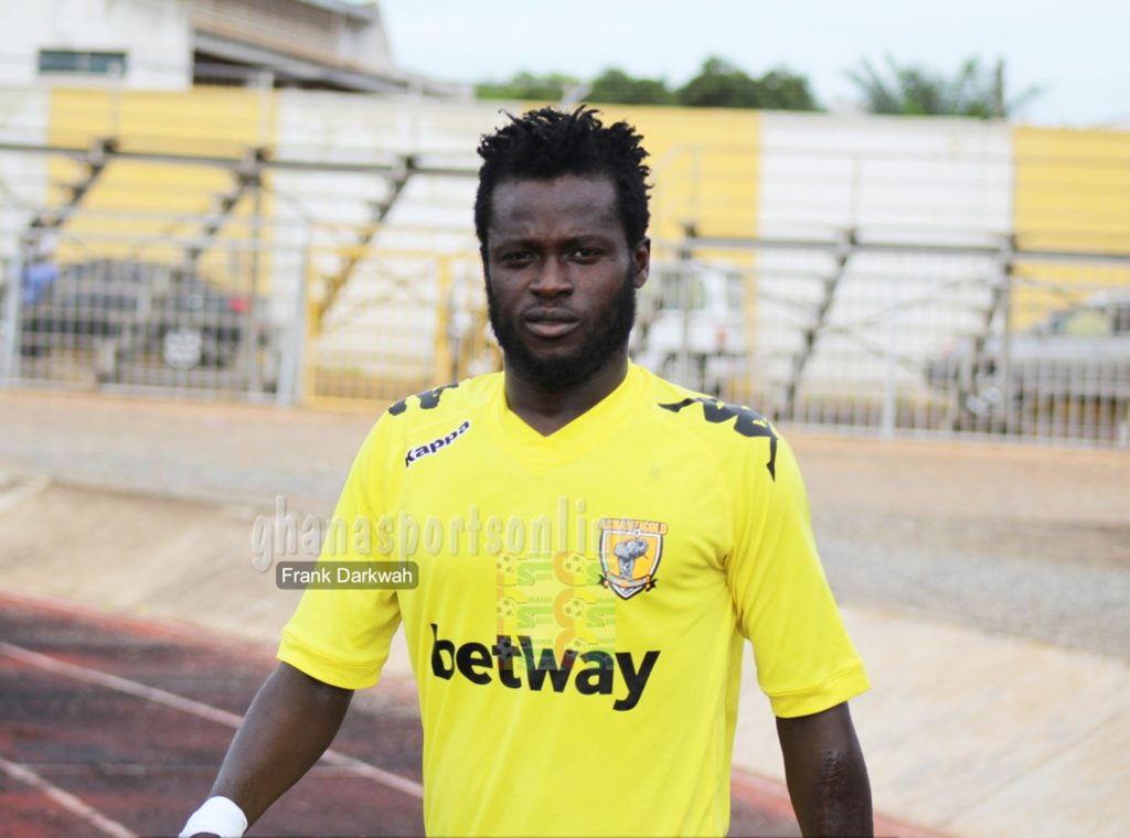 Hans Kwofie rejoins AshantiGold SC on a short-term deal