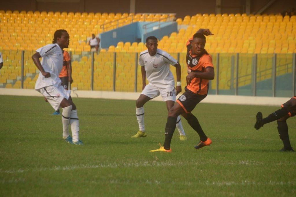 2019/20 Ghana Premier League: Week 9 Match Report - Inter Allies FC 1-1 Legon Cities FC