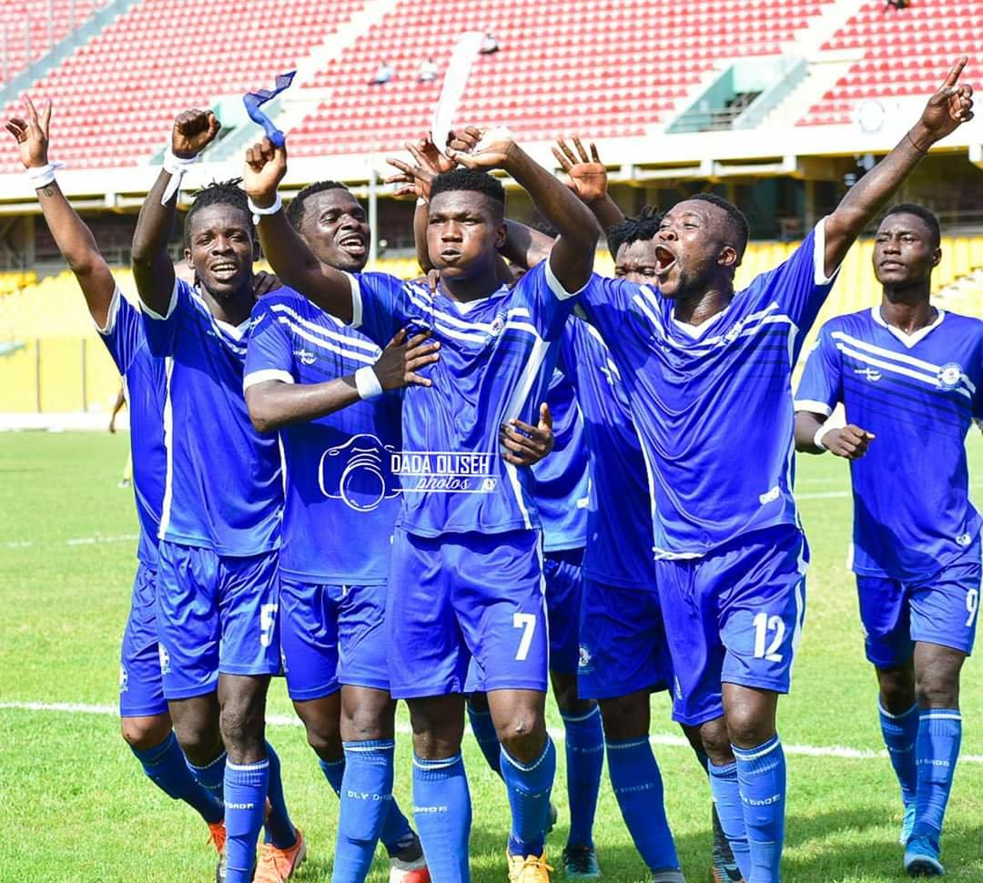 2019/20 Ghana Premier League: Week 13 Match Report - Great Olympics 2-0 Ebusua Dwarfs