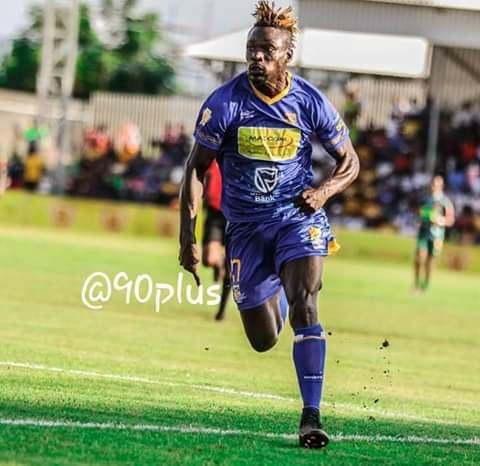 Black Leopards FC tracking Ghanaian forward Francis Afriyie