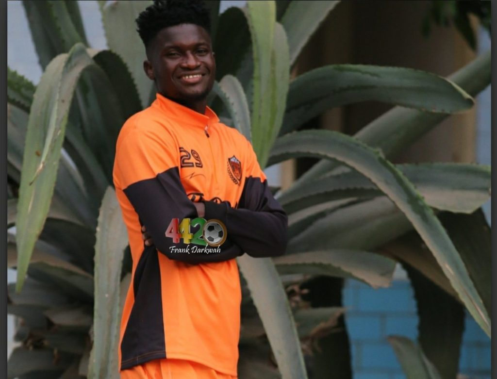 Legon Cities send back Stephen Ayiku Tetteh to Asante Kotoko after a failed loan spell