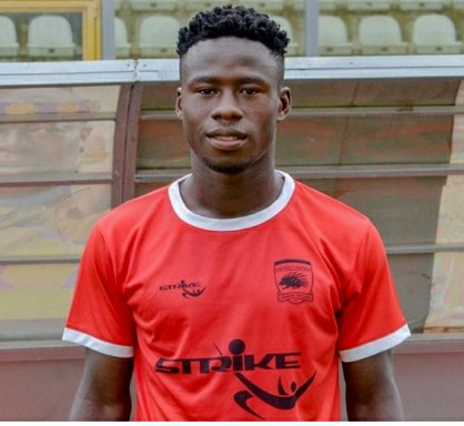 Godfred Asiamah on his to way to Karela United for the rest of the season