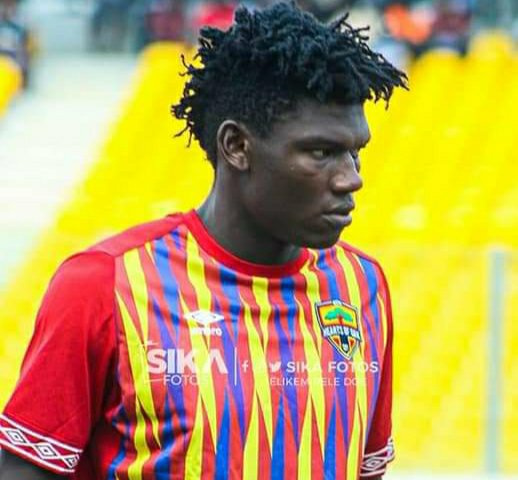 TP Mazembe closing in on Hearts of Oak defender Raddy Ovouka Okemba