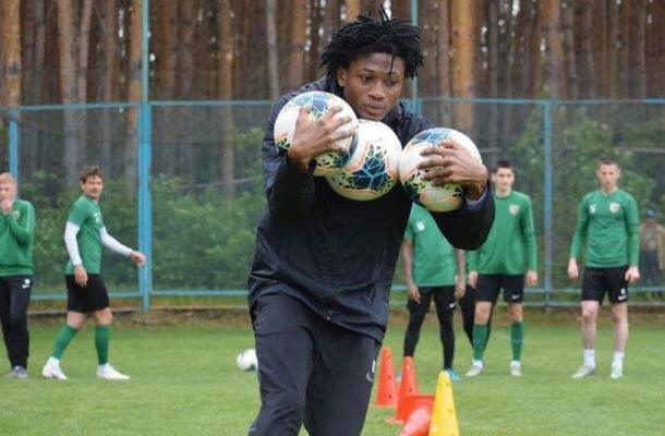 Ghanaian youngster Najeeb Yakubu returns to training with FC Vorksla Poltava