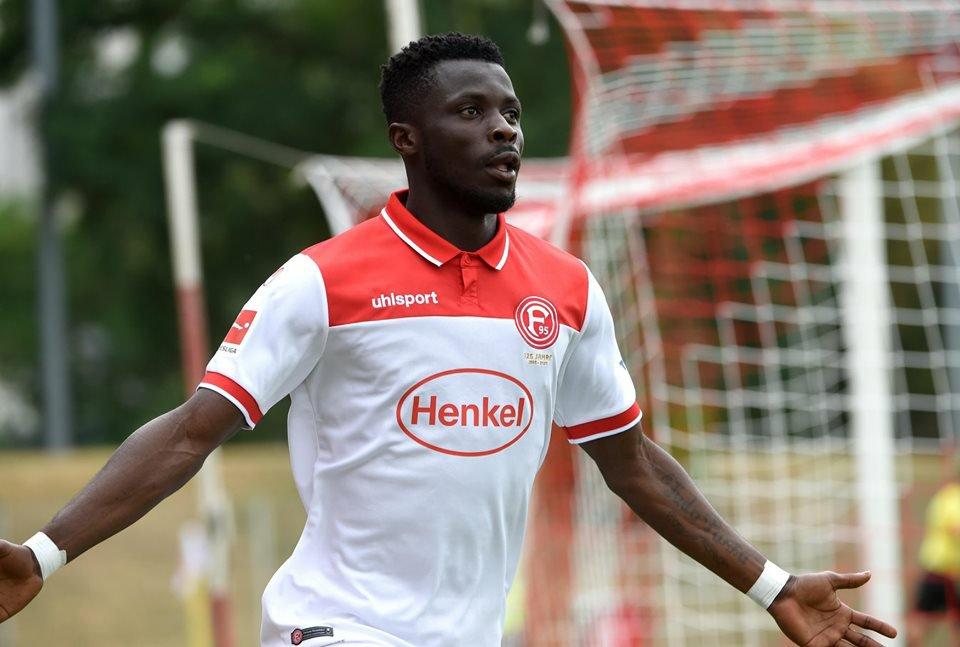 Fortuna Dusseldorf release Ghanaian winger Nana Opoku Ampomah