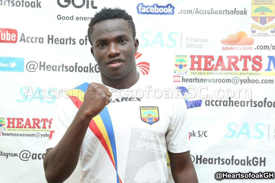 Christopher Bonney set for loan switch to Inter Allies FC from Hearts of Oak