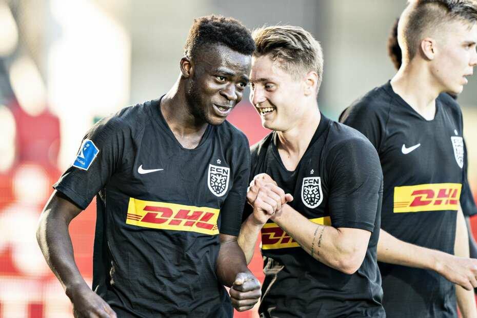 Kamaldeen Sulemana scores second goal of the season as FC Nordsjælland draw with FC Copenhagen