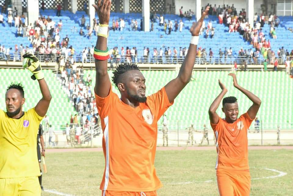 Ghanaian striker Richmond Adongo extends his contract with Ethiopian side Dire Dawa City for one year