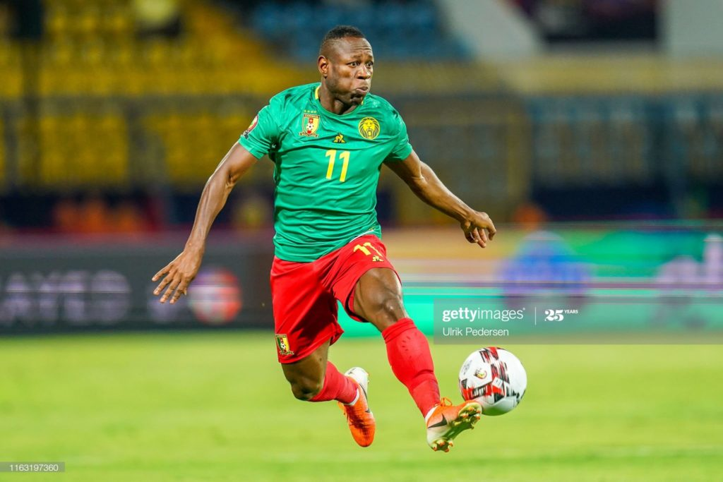 Cameroon forward Christian Bassogog asks CAF to postpone 2021 Africa Cup of Nations