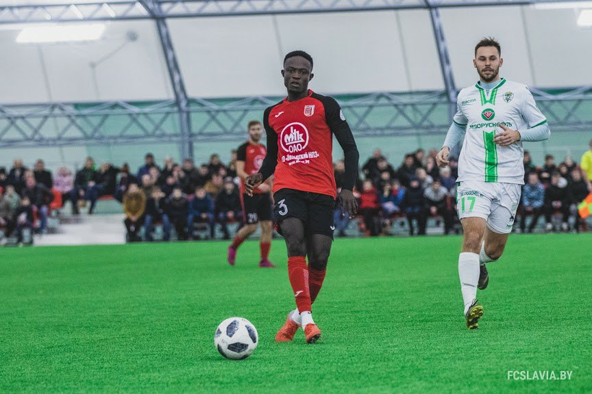 FC Slavia Mozyr part ways with midfielder James Kotei after just five months