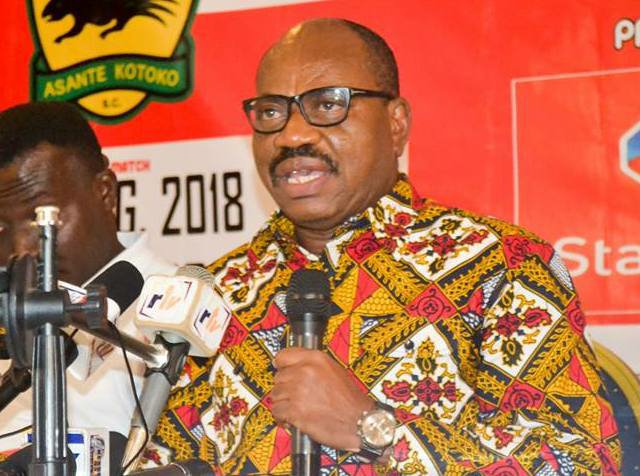 Manyhia Palace unhappy with former Asante Kotoko CEO George Amoako