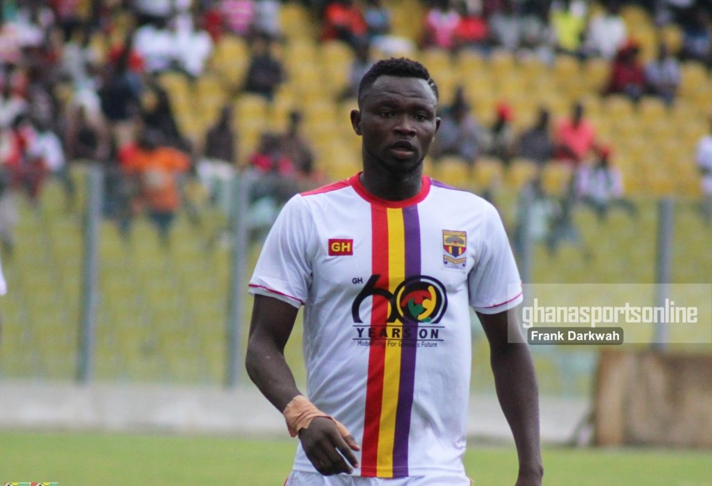 Vincent Atinga - It is a great feeling playing for Hearts of Oak