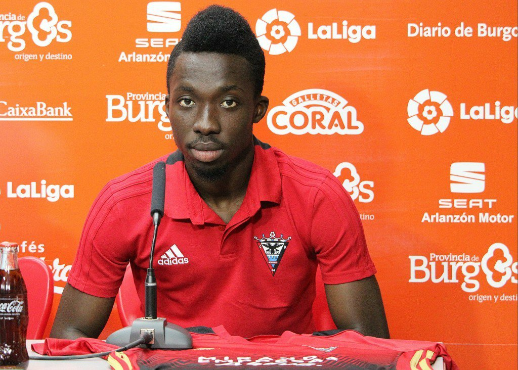 Ghanaian winger Ernest Ohemeng set to join UD Salamanca this summer
