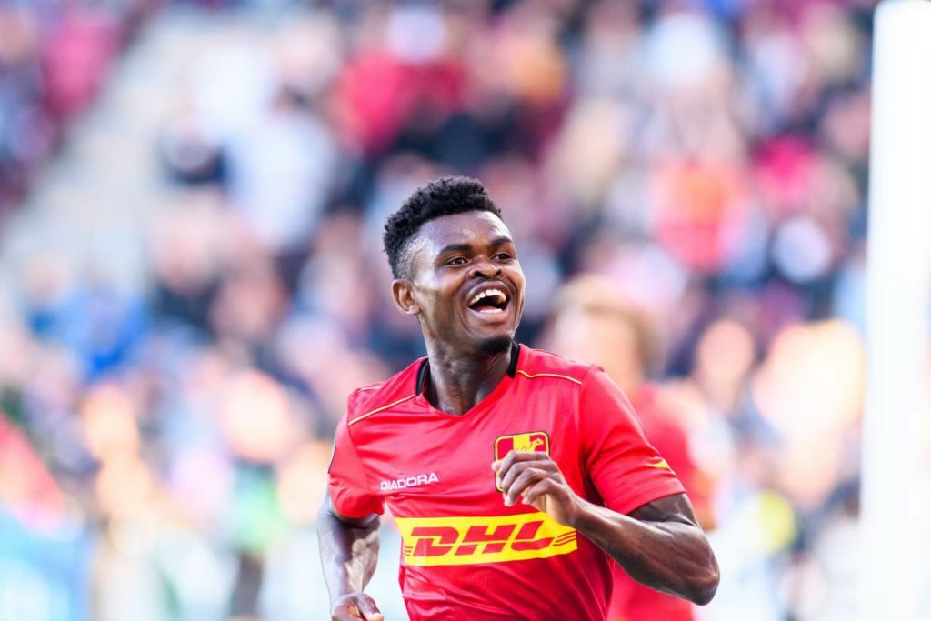 Royal Antwerp to swoop for Ghanaian forward Godsway Donyoh