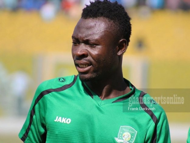 Aduana Stars attacker Bright Adjei advises Asante Kotoko and AshantiGold to stop participating in CAF inter-clubs competitions