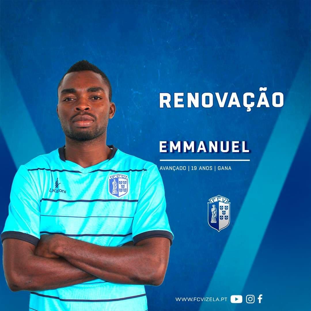 Liberty Professionals striker Emmanuel Roe Addo extends loan spell at Portuguese side FC Vizela