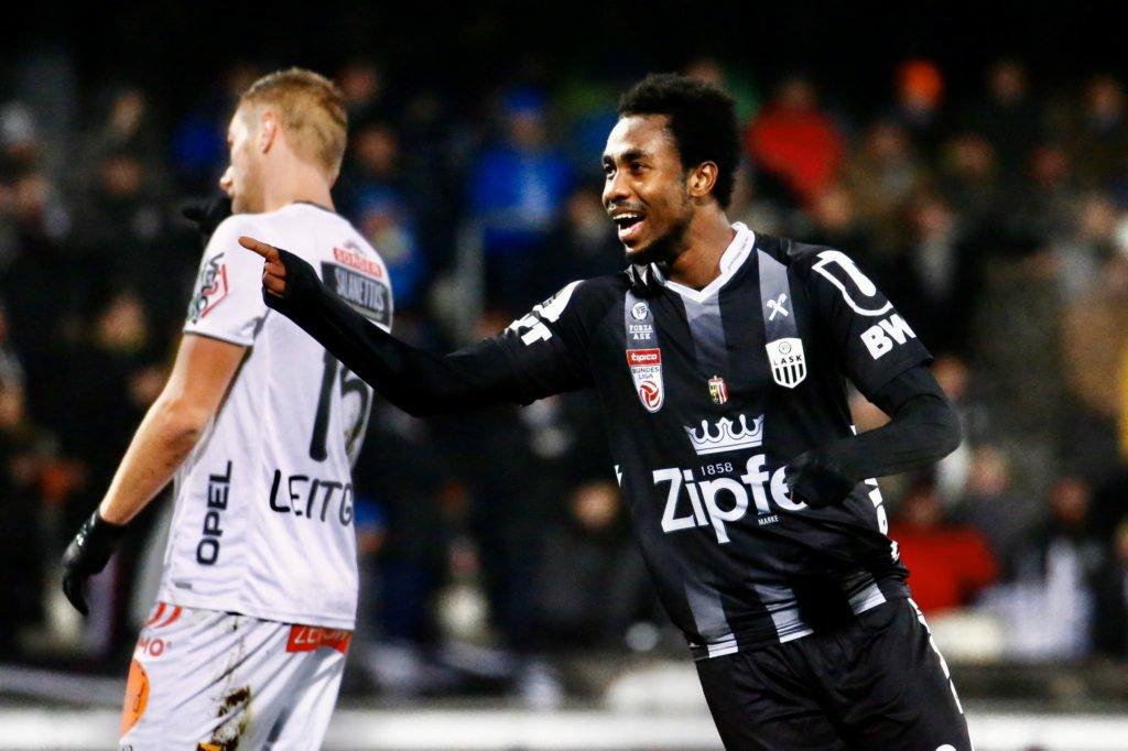 Ghana forward Samuel Tetteh bids farewell to LASK Linz after loan spell