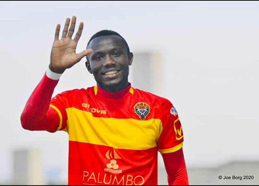 Ghanaian midfielder Elvis Sakyi makes Malta Premier League team of the season