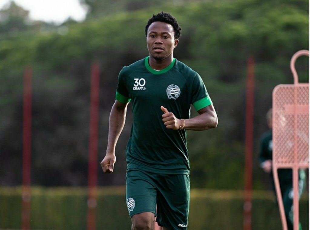 Youngster Abdul-Halik Hudu extends contract with Hammarby IF for another one year