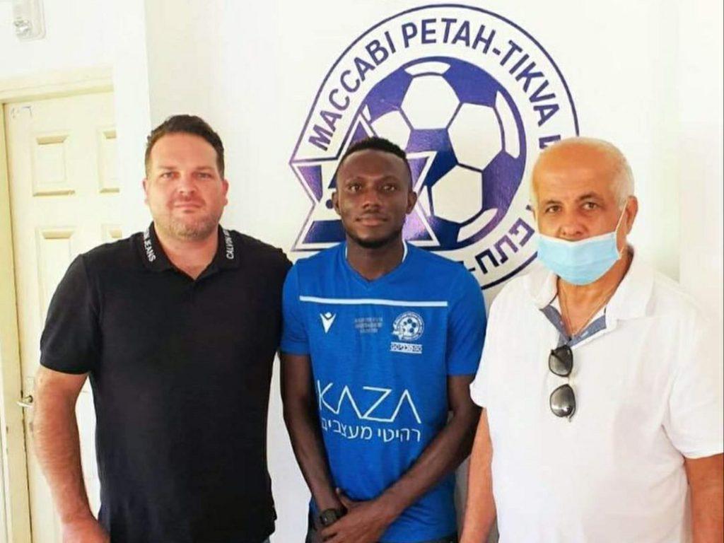 Ghanaian midfielder Elvis Sakyi joins Maccabi Petah Tikva in Israel