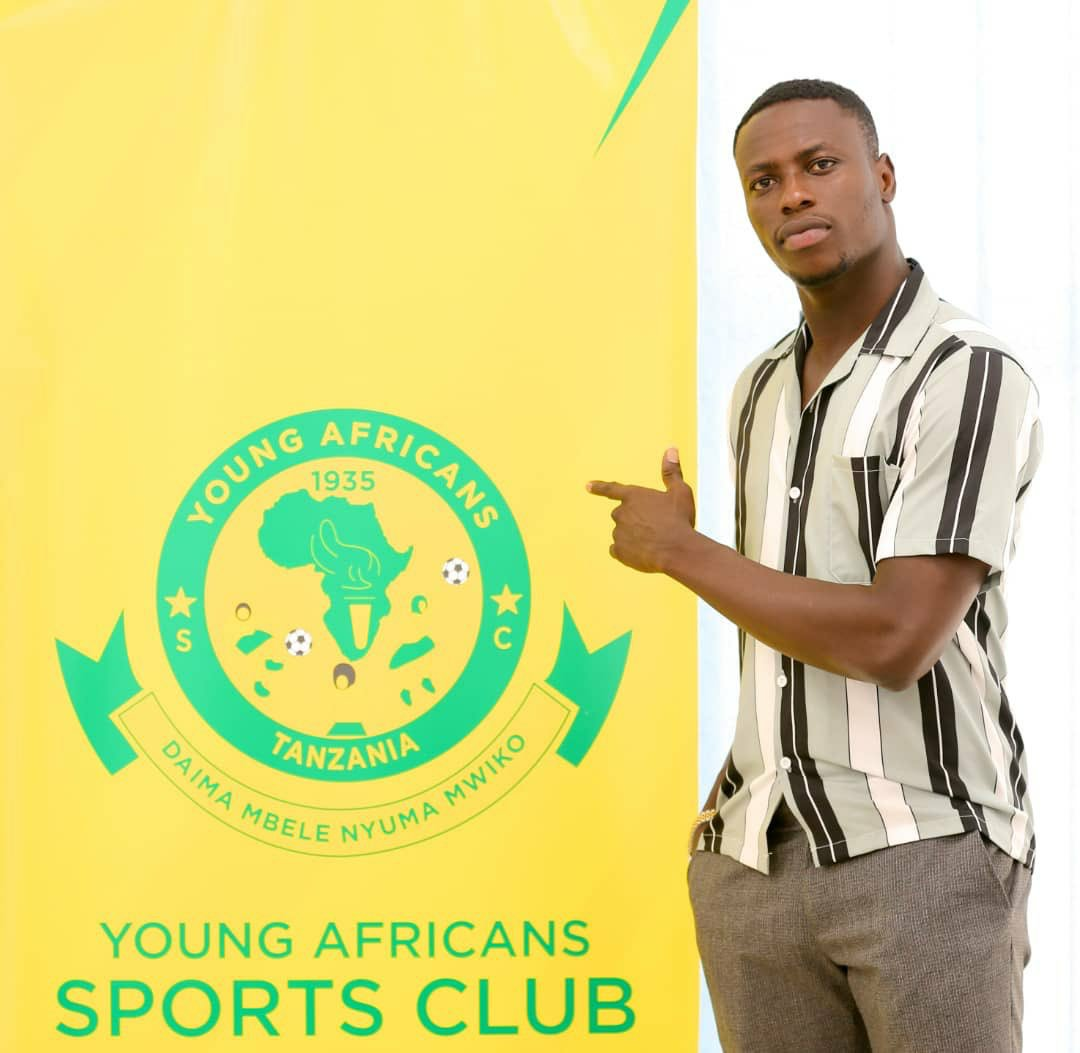 Young Africans SC complete signing of Ghanaian striker Michael Sarpong