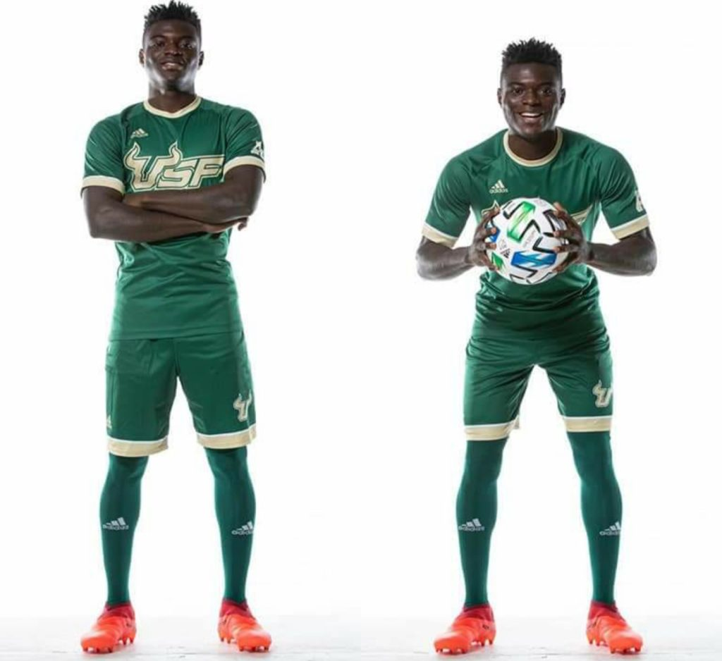 University of South Florida Men's Soccer Team add Ghanaian youngster Joshua Gomina to their roster