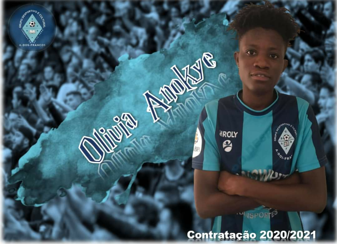 EXCLUSIVE: Ghana midfielder Olivia Anokye signs for Grupo Desportivo Cultural A-dos-Francos in Portugal
