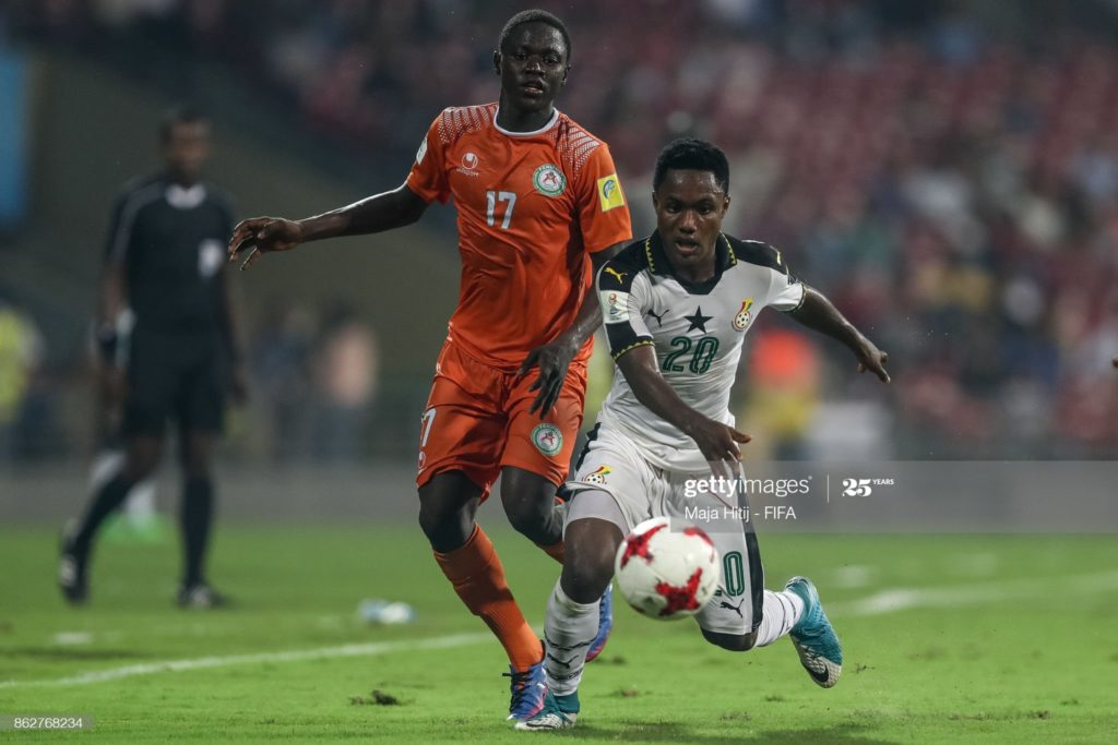Ghana youth star Isaac Gyamfi completes move to Albanian giants KF Tirana