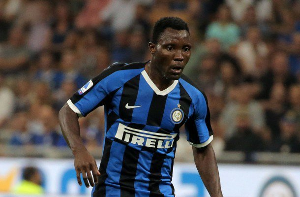 Kwadwo Asamoah congratulates Inter Milan teammates for second ...