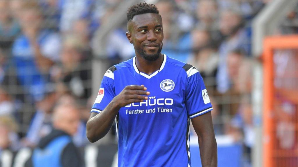 MSV Duisburg tracking Ghanaian striker Prince Osei Owusu